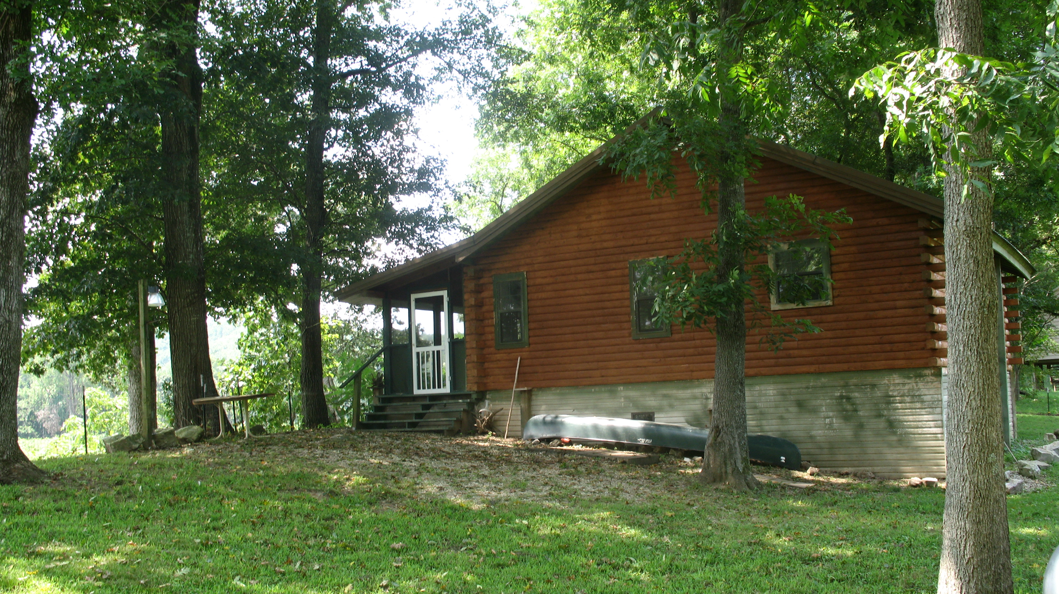 cabin cabins pin rock river getaway weekend white in arkansas calico on great the